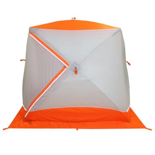 Палатка-куб зимняя двуслойная ПИНГВИН Призма BRAN D NEW (200*185)