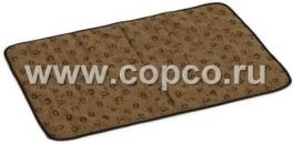 Beeztees 704530 Коврик охлаждающий в жару, коричневый 51*36*1см