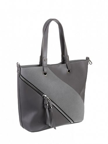 f1a788824adc Сумка женская шоппер эко-кожа, 36-828-8, серый