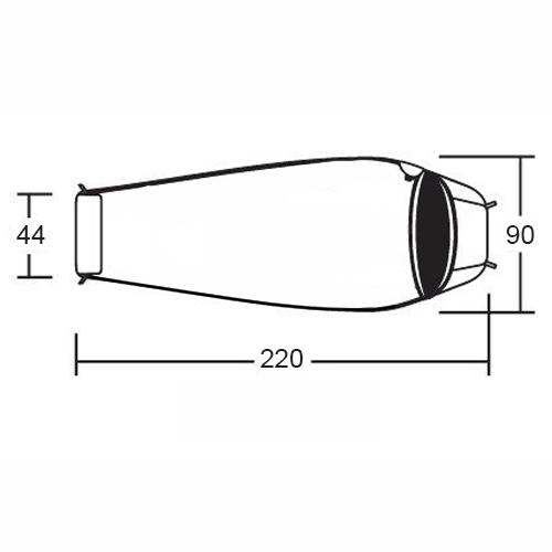 Спальник кокон демисезонный Алтай -10 XL v3