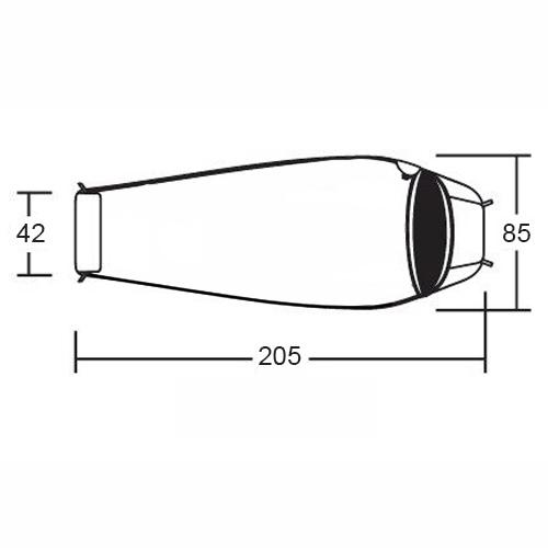 Спальник кокон демисезонный Алтай -10 L v3