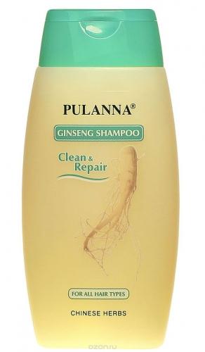Глубокоочищающий  шампунь и кондиционер на основе женьшеня -Ginseng Shampoo 250мл