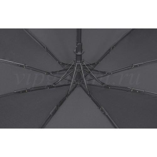 Зонт мужской 202R Dolphin 3 сл полуавтомат 9 спиц ручка прямая