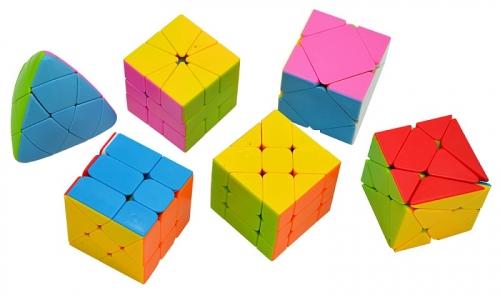 Набор головоломок Cube (в коробке 6 шт)