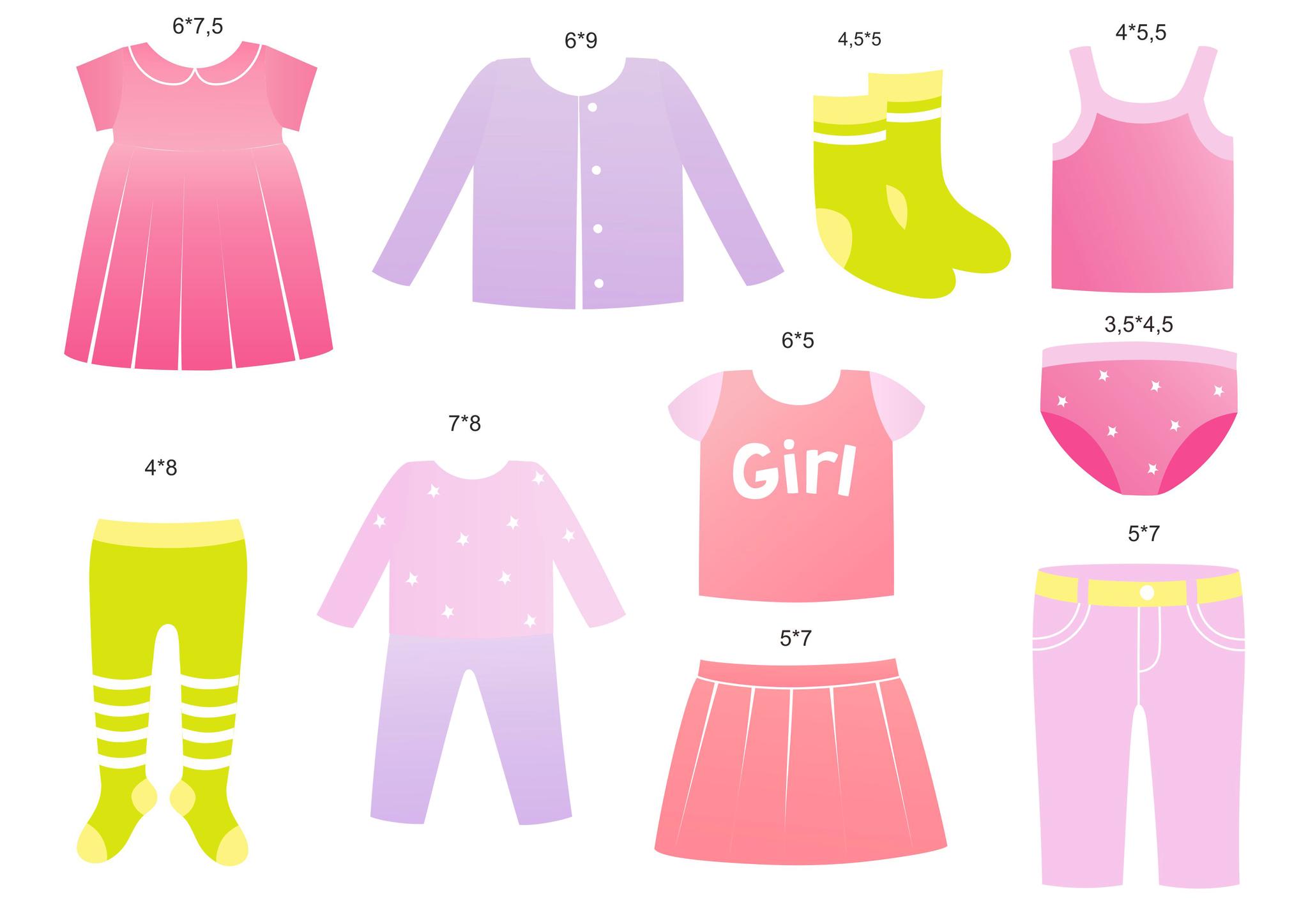 Картинки предметы одежды для мальчиков и девочек, подруги картинки