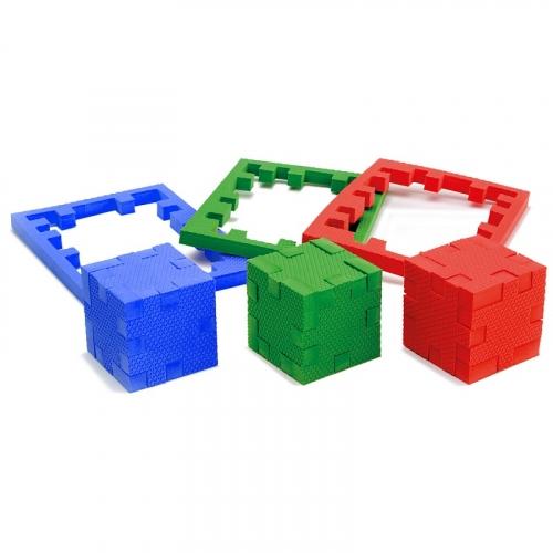 КубикФорм 3 стихии, набор 3 пластины