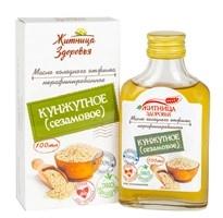 Масло из семян белого кунжута (сезамовое) 0,1л