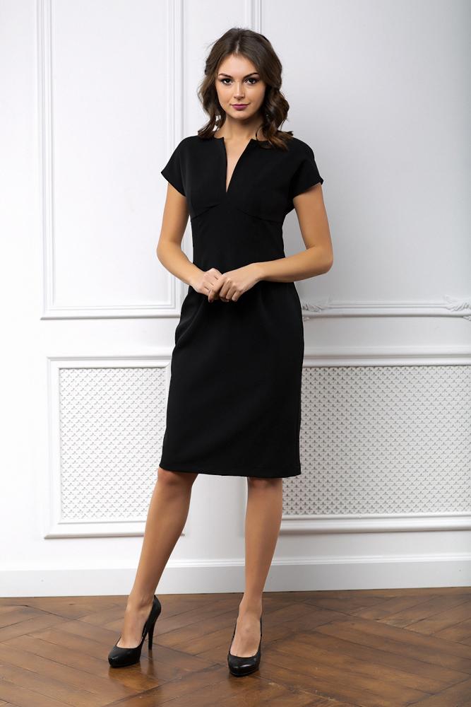будут черное платье футляр фото модного образа тут баланс