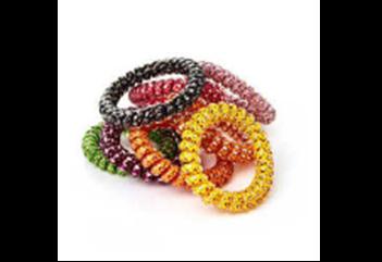 367645/05-M микс (разноцветные)  женские набор резинок для волос (4 шт)