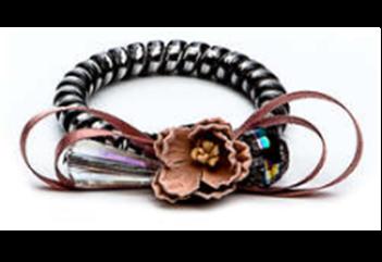 377610/08-02 розовый  женские резинка для волос