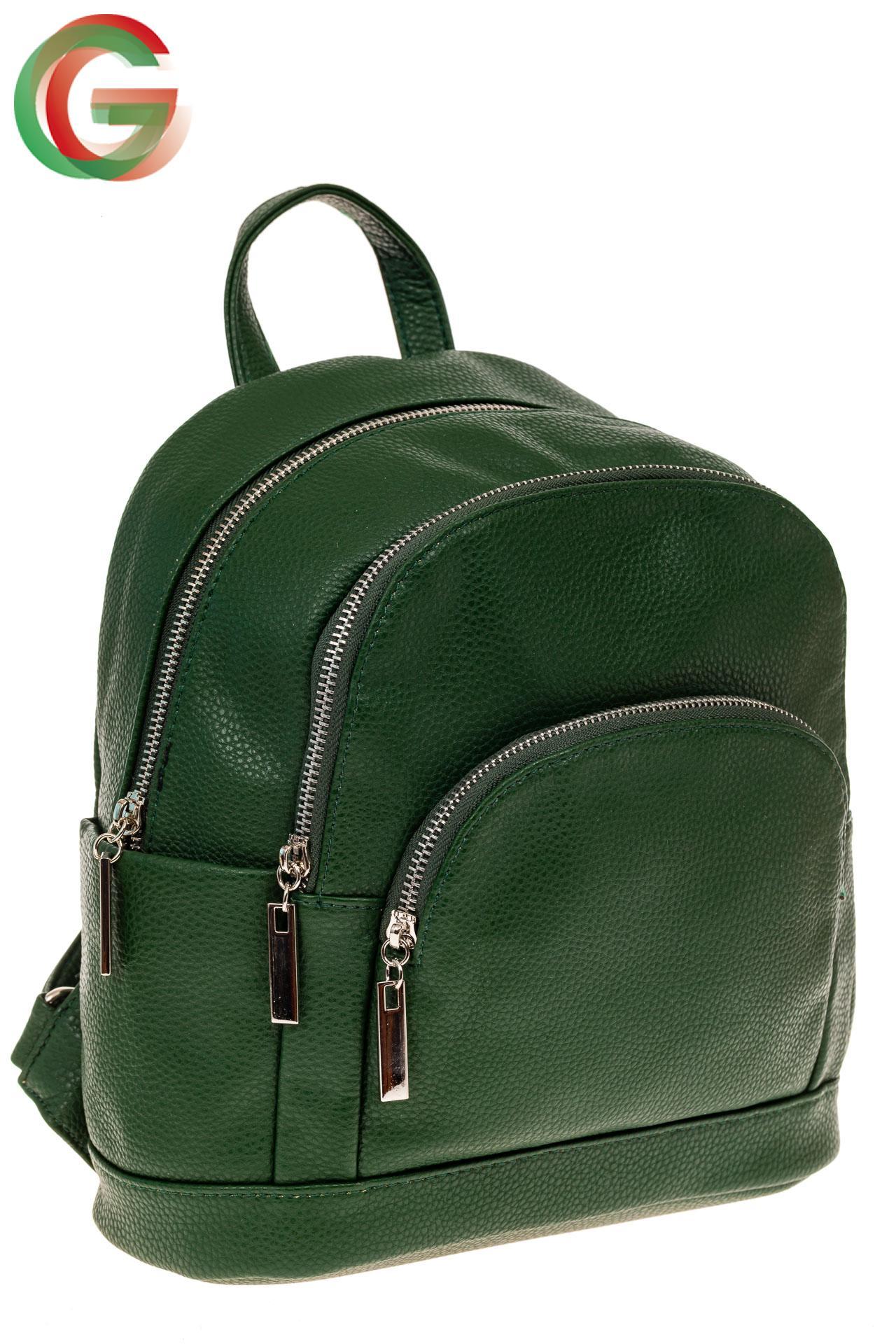 94e44ca83dd8 Женский рюкзак из натуральной кожи, цвет черный