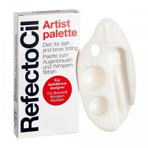 REFECTOCIL. Artist palette. Емкость для смешивания краски из пластмассы