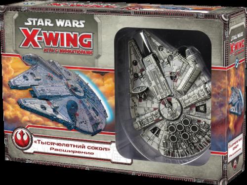 Настольная играStar Wars. X-Wing. Расширение Тысячелетний Сокол