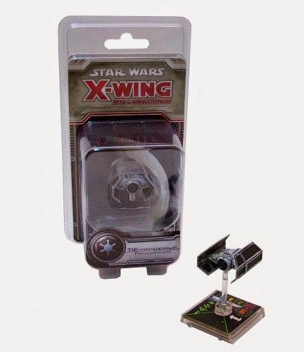 Настольная играStar Wars. X-Wing. Расширение TIE-Улучшенный