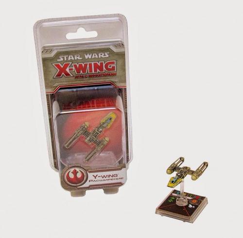 Настольная играStar Wars. X-Wing. Расширение Y-Wing