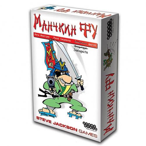 Настольная играМанчкин Фу (новая версия)
