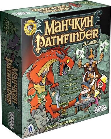 Настольная играМанчкин Pathfinder Делюкс