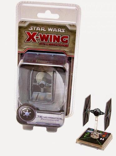 Настольная играStar Wars. X-Wing. Расширение TIE-Истребитель
