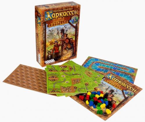 Настольная играКаркассон. Золотая Лихорадка