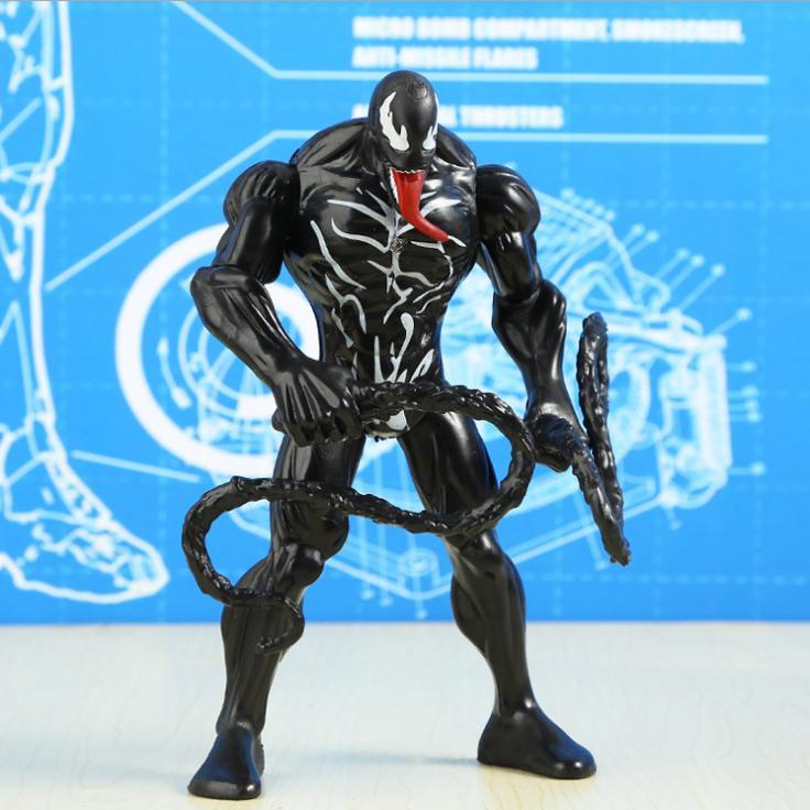 человек паук черный картинки игрушки популярная креативная пепельница