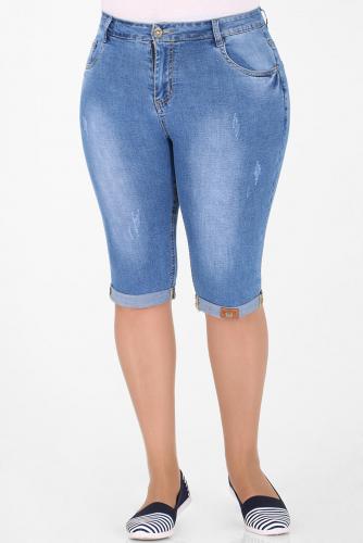 1У-54 D007 Капри джинсовые