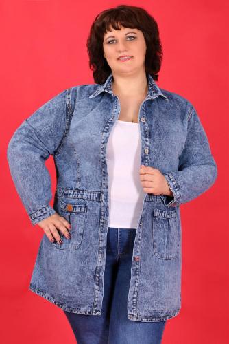 К1У-53 1319 Куртка джинсовая