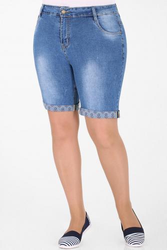 1У-54 D021 Шорты джинсовые