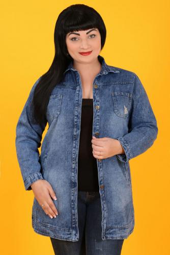К8 1221 Куртка джинсовая