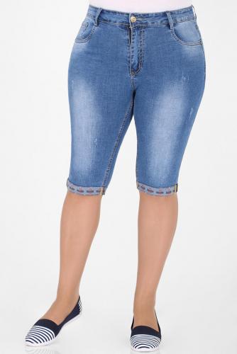 1У-54 D009 Капри джинсовые