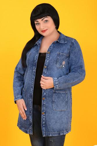 К8 1217 Куртка джинсовая