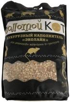 Золотой кот Наполнитель Кукурузный 6л