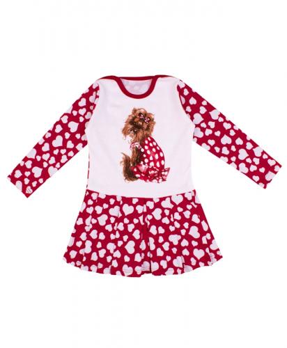 [489401]Платье для девочки ДПД421067н