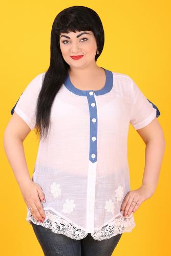 20-26 ДАДАШ D-44 Рубашка белый