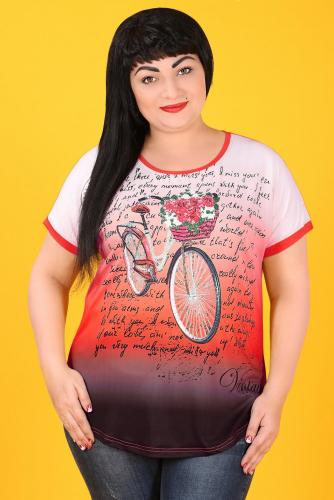 20-26 НАТАЛИ S 4059 Блуза красный