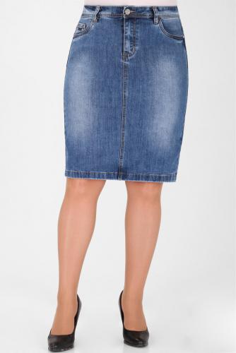 М-12 5529 Юбка джинсовая