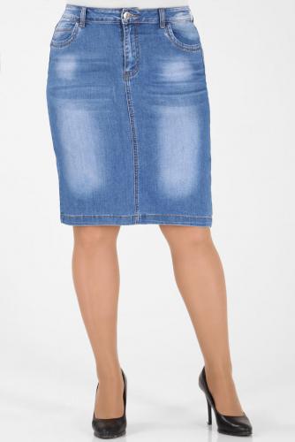 М-12 2617 Юбка джинсовая