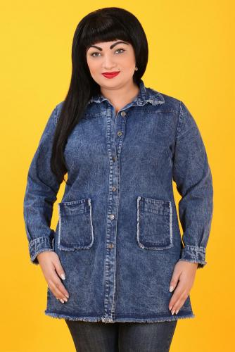 СИМАН Т-407 Куртка джинсовая
