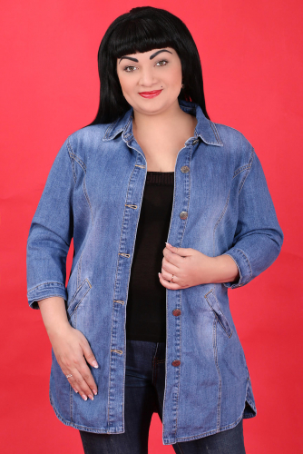 КМ-12 8882 Куртка джинсовая