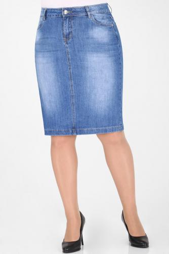 М-12 6438 Юбка джинсовая