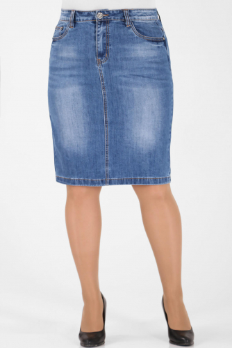 М-12 5533 Юбка джинсовая