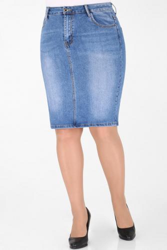 М-12 563 Юбка джинсовая