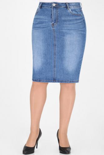М-12 5003 Юбка джинсовая