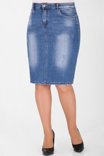 М-12 2608 Юбка джинсовая