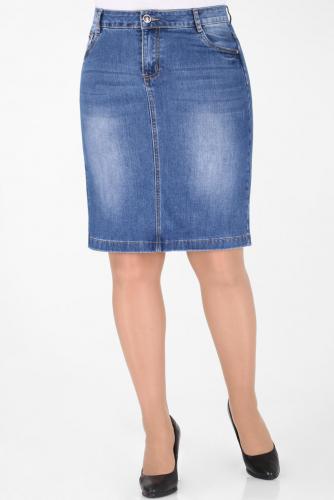 М-12 6049 Юбка джинсовая