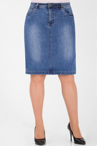 М-12 5539 Юбка джинсовая
