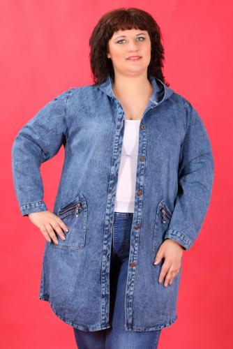 К8 1308 Куртка джинсовая с капюшоном