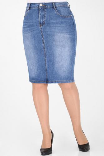М-12 5006 Юбка джинсовая
