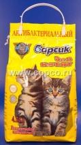 Барсик Наполнитель д/котят впитывающий 4,54л