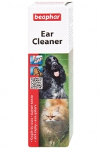 Беафар 12560 Ear Cleaner Лосьон ушной д/кошек и собак 50мл