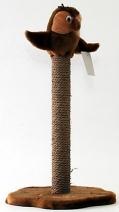 Дарэлл 8322 Когтеточка ЧИП столбик с совой (столбик джут) 38*38*59